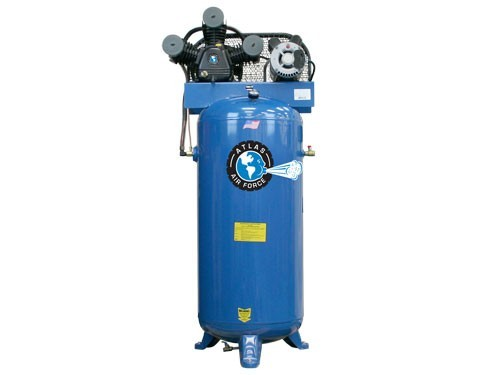atlas air force af single stage single phase  gallon air compressor