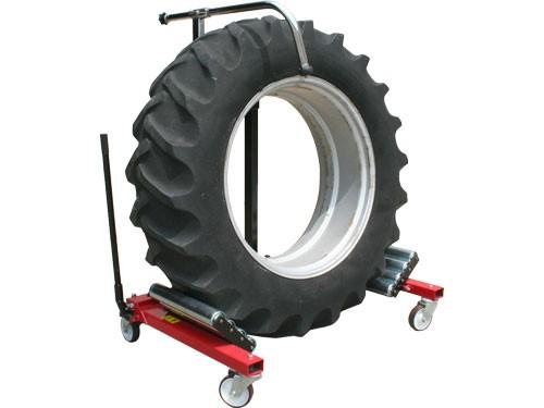Farm Tire Heavy Duty 2600 Lb Capacity Portable Wheel Dolly